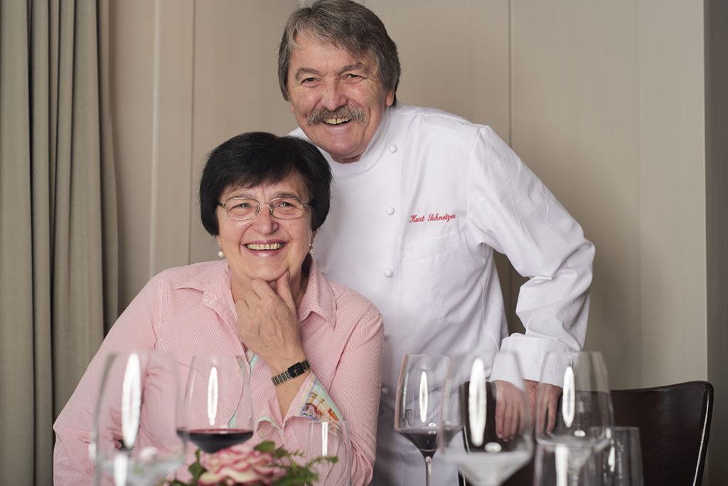 Rosmarie und Kurt Schnetzer Restaurant Blume Schwamendingen